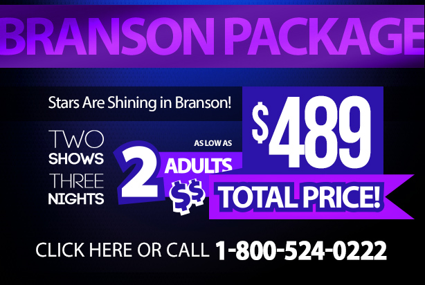 Plan you trip to Branson with a great vacation package that includes some of the areas best attractions and a stay at Grand Plaza Hotel for one package deal.